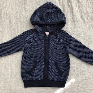 Gymboree Zip Sweater Hoodie